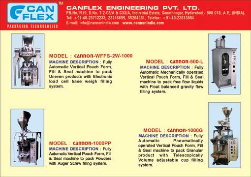 Canflex Engineering P.v.t. L.t.d