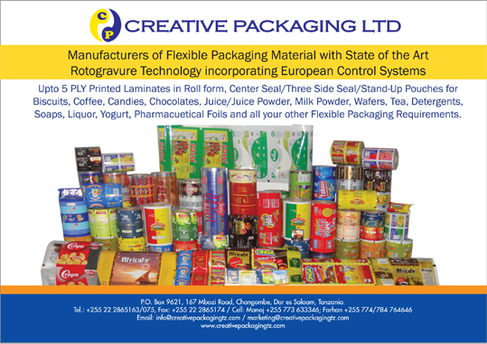 Creative Packaging Ltd.